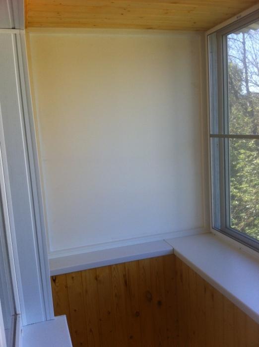 Остекление и внутренняя отделка балкона на ул. м.жукова - со.